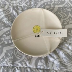 Rae Dunn serving plates